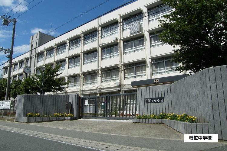 増位中学校 940m