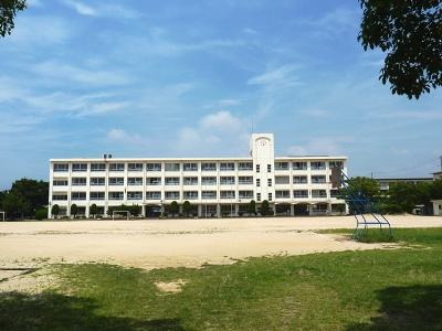 播磨町立播磨西小学校   630m