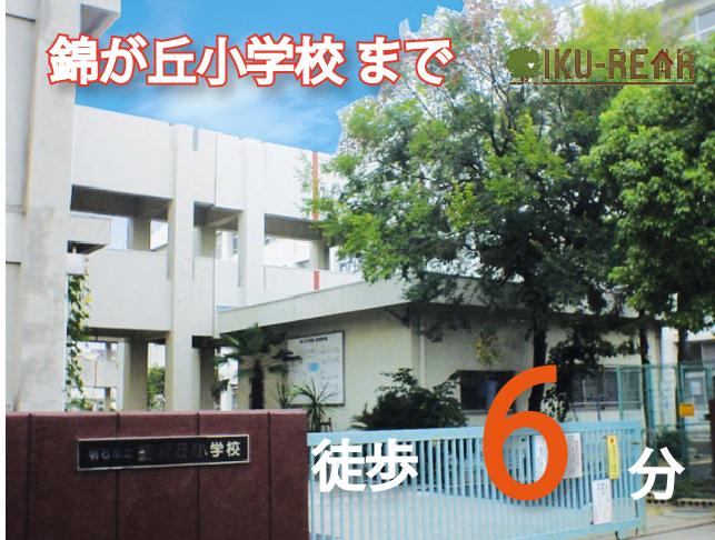 錦が丘小学校 約420m(徒歩6分)