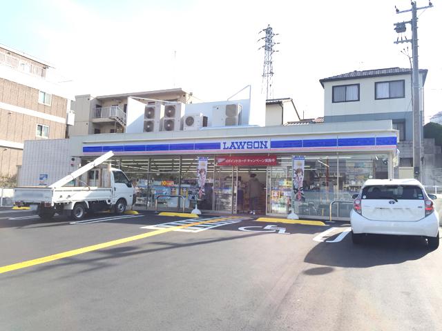 ローソン神戸枝吉店 徒歩7分(約530m)